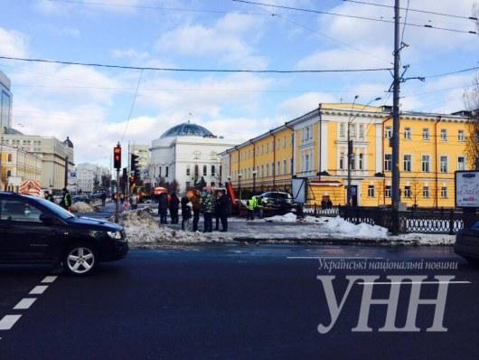 Вцентре столицы Украины случилось масштабное ДТП: погибла девушка